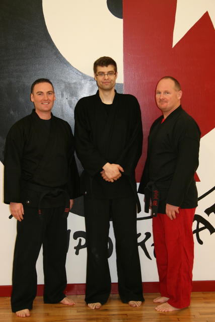 Mr. McAuley, Mr. Redekopp, and Master Harding